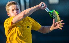 Photos: Iowa men's tennis vs. Michigan State (4/19/2019)