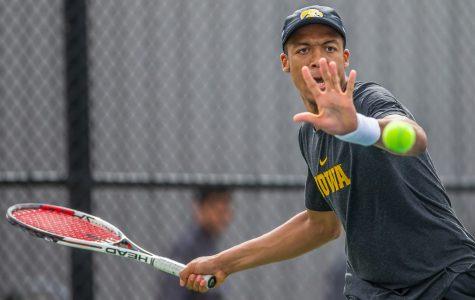 Iowa tennis gains momentum in Big Ten