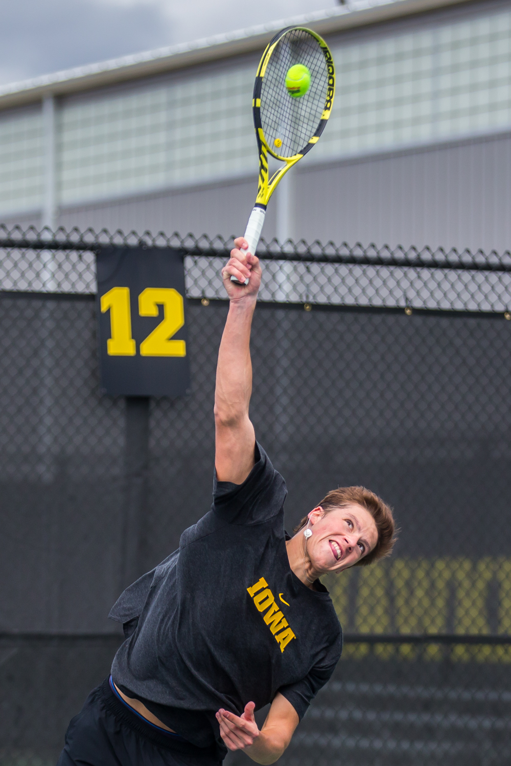 Iowa%27s+Joe+Tyler+hits+a+serve+during+a+men%27s+tennis+match+between+Iowa+and+Ohio+State+at+the+HTRC+on+Sunday%2C+April+7%2C+2019.+The+Buckeyes+defeated+the+Hawkeyes%2C+4-1.
