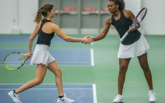 Iowa tennis unravels in weekend matchups