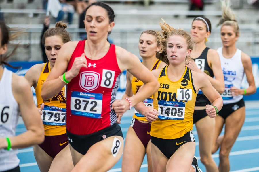 Iowa%27s+Megan+Schott+runs+in+the+women%27s+1500m+race+at+the+2019+Drake+Relays+in+Des+Moines%2C+IA%2C+on+Friday%2C+April+26%2C+2019.+Schott+finished+sixth+with+a+time+of+4%3A28.00.
