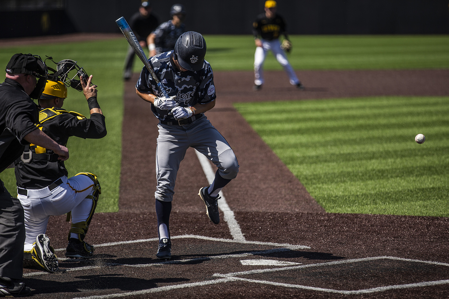 during the game against UC Irvine at Duane Banks Field on Saturday, May 4, 2019. The Hawkeyes defeated the Anteaters 1-0.
