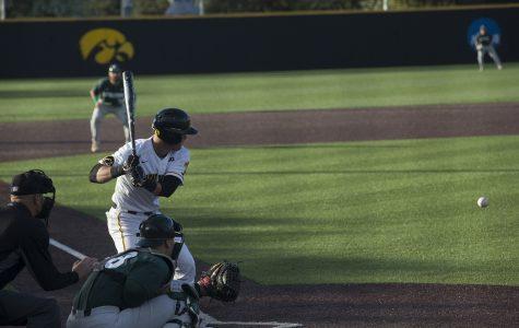 Iowa baseball swept by Maryland