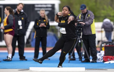 Tausaga named Big Ten Female Field Athlete of the Year