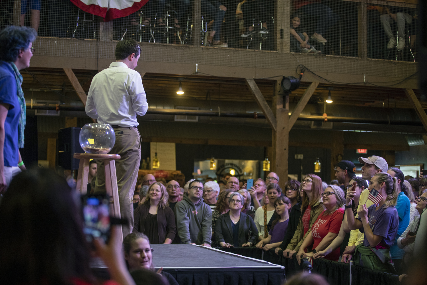2020+Democratic+presidential-nomination+candidate+Pete+Buttigieg+responds+to+a+young+attendee%27s+question+about+Russian+President+Vladimir+Putin+during+the+town+hall+at+the+Wildwood+Smokehouse+%26+Saloon+on+May+18%2C+2019.+The+Iowa+City+event+marked+the+third+of+four+Iowa+campaign+stops+for+Buttigieg+this+weekend.+