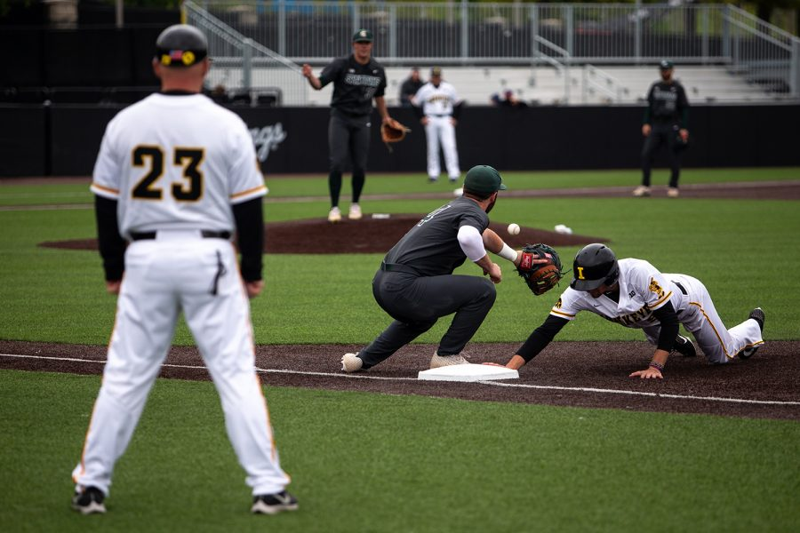 Photos: Iowa baseball vs. Michigan State (5/12/2019)