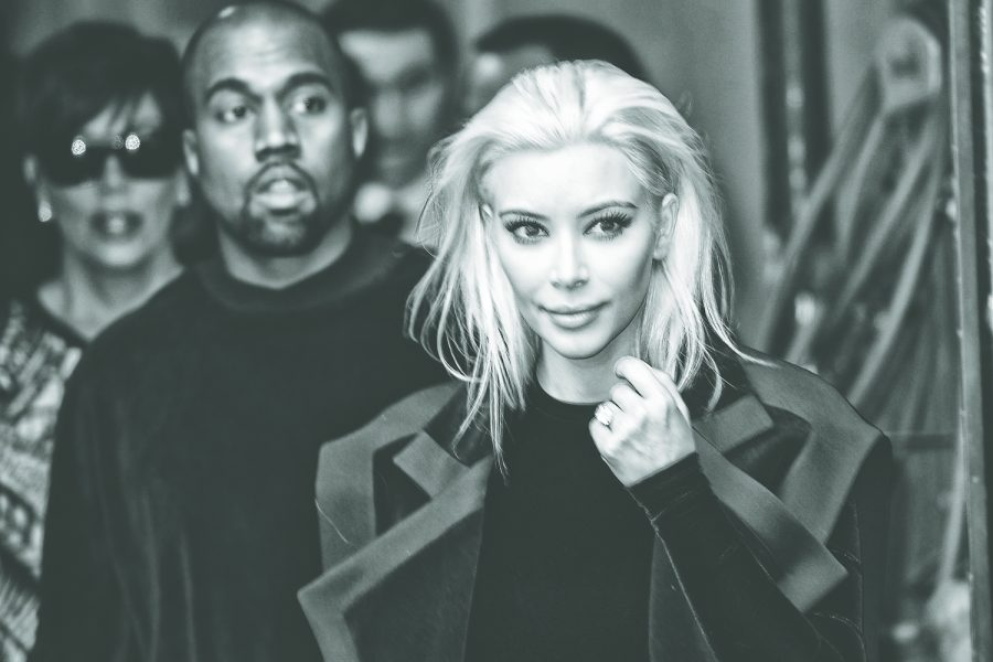 Kanye+West+and+Kim+Kardashian+arrive+at+Balmain+Fashion+Show+during+Paris+Fashion+Week+on+March+5%2C+2015+in+Paris%2C+France.+%28Jb+Autissier%2FZuma+Press%2FTNS%29
