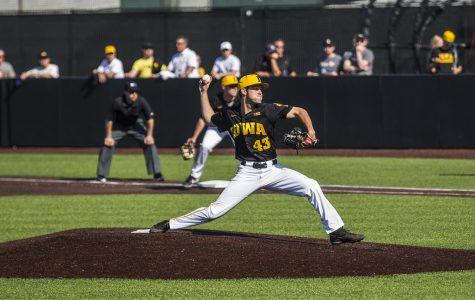 Pitching lifts Iowa baseball over Cal-Irvine