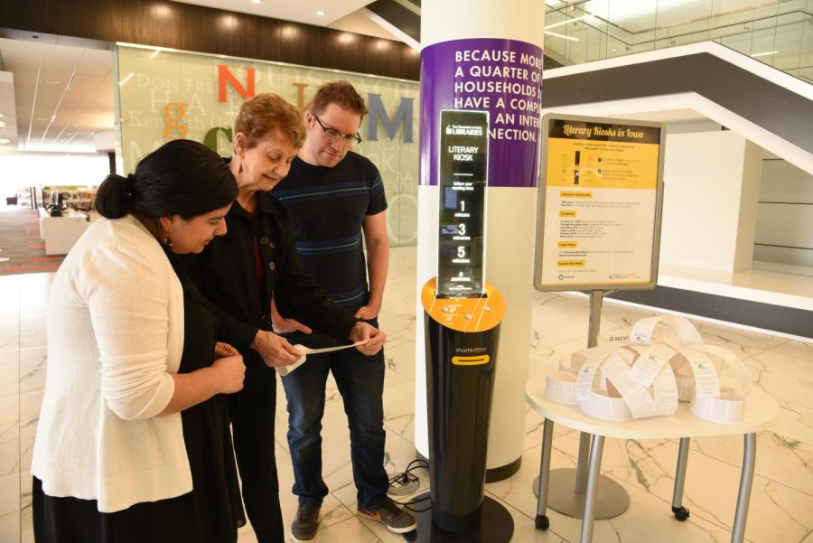 Literary kiosk concludes introductory tour, more to arrive