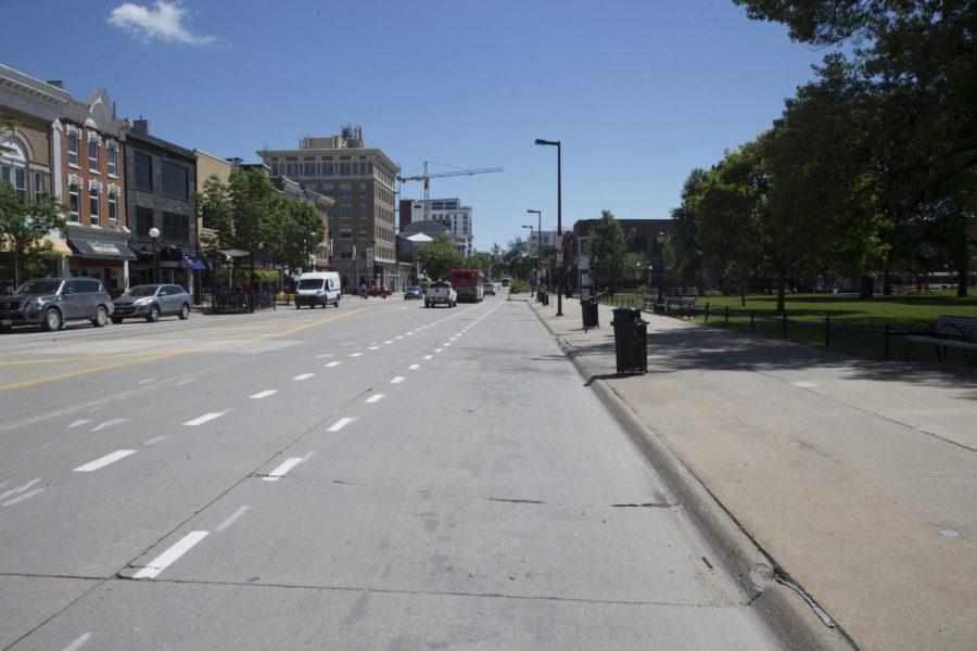 New+bike+lanes+improve+commute+to+University+of+Iowa+campus