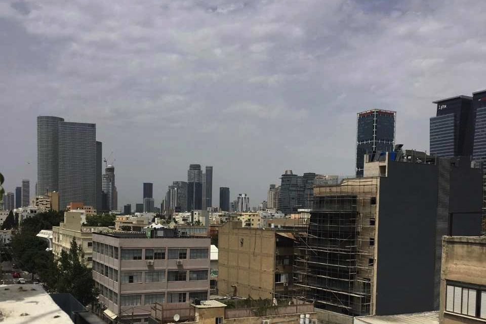 A rooftop view of eastern Tel Aviv, Israel, is seen on Thursday. (Madison Lotenschtein/The Daily Iowan)