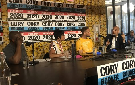 Sen. Cory Booker advocates for racial equality in Iowa City