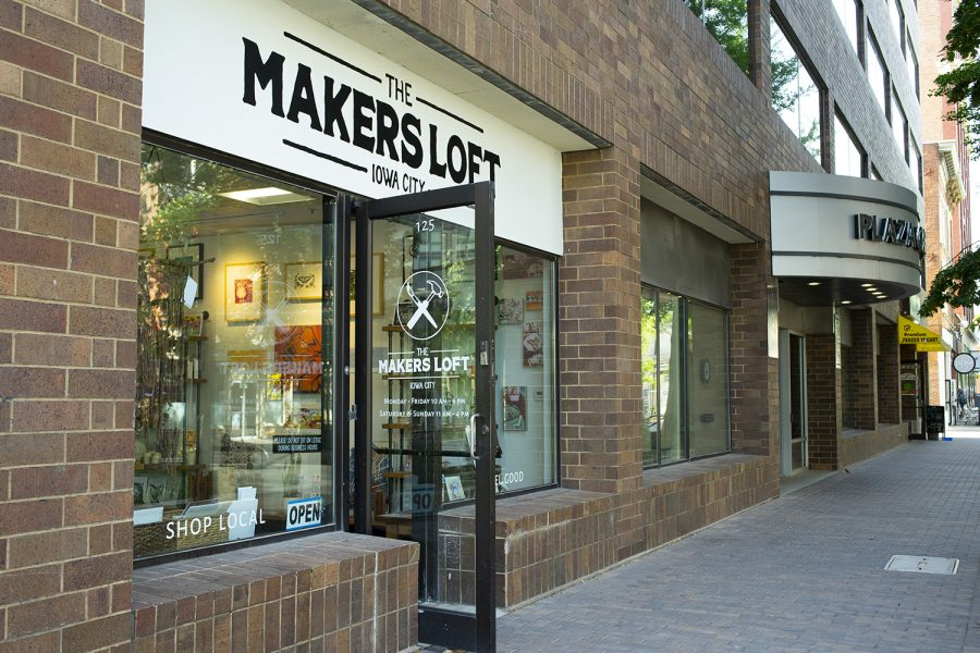 Makers Loft coffee shop is seen on Monday, June 17th, 2019.(Michael Guhin/The Daily Iowan)