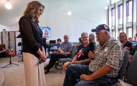 Photos: Marianne Williamson in Cedar Rapids (06/30/2019)
