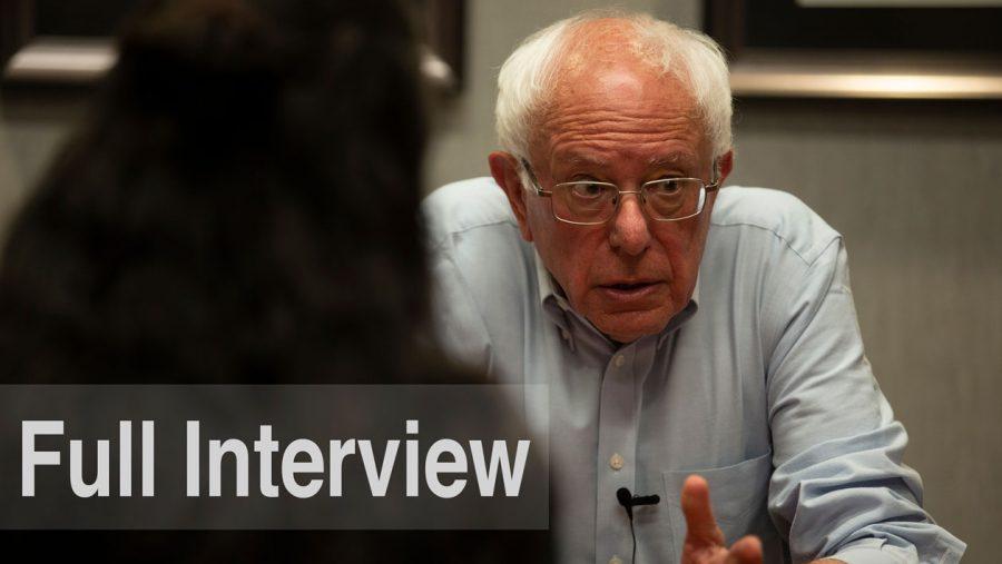 Bernie Sanders: Full Interview