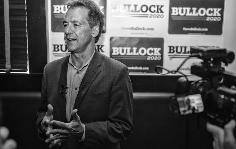 Photos: Steve Bullock visits Iowa City