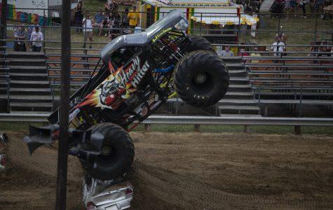 Monster trucks entertain locals at Johnson County Fair