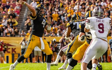 Stanley hopes to join history of Hawkeye veteran QBs' success