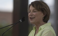 Democratic presidential hopefuls tout agriculture at Progress Iowa Corn Feed