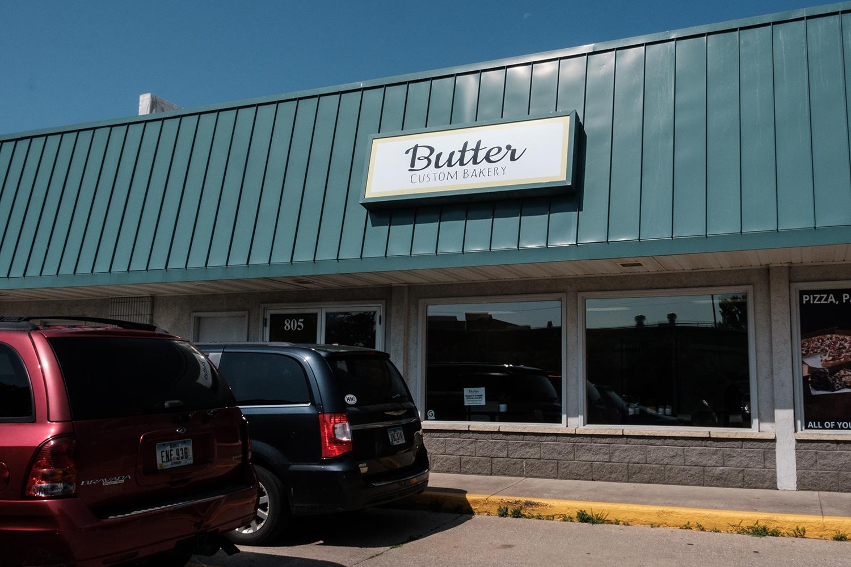 Butter Custom Bakery is seen on Wednesday, July 24, 2019. Butter Bakery will open on July 27, 2019. (Wyatt Dlouhy/The Daily Iowan)