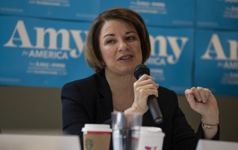 Amy Klobuchar talks affordable housing in Iowa City