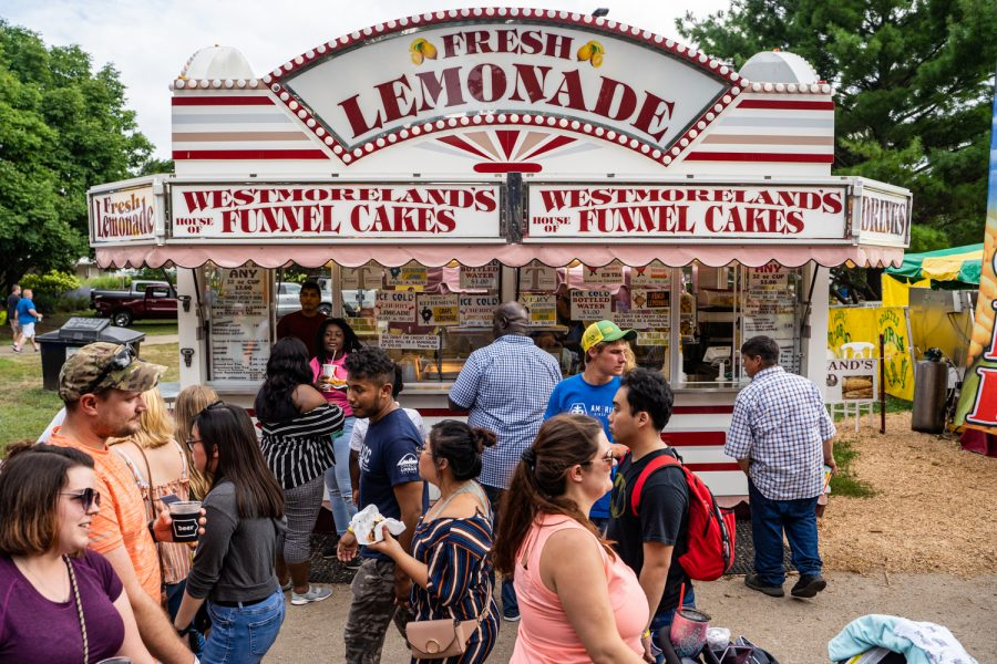 By the mouthful: A journey of food at the Iowa State Fair