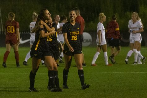 Iowa soccer freshman Gianna Gourley makes quick impact