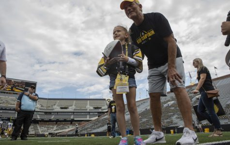 Charlotte Keller will root for Hawkeyes in her home state as Kid Captain