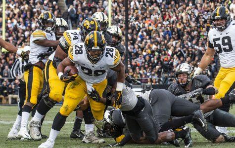 Iowa running backs look to share success this season