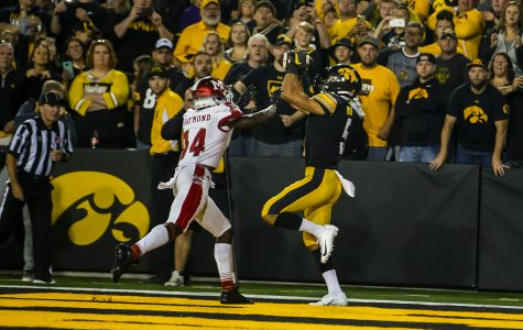 Martin finds success in first game at Kinnick