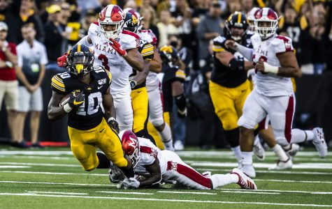 Hawkeyes re-energize rushing attack against RedHawks