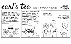 Cartoon: Earl's Tea on: Freshman