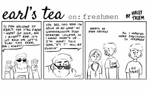 Cartoon: Earl's Tea on: Freshman