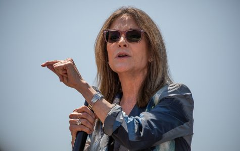 Author and motivational speaker Marianne Williamson