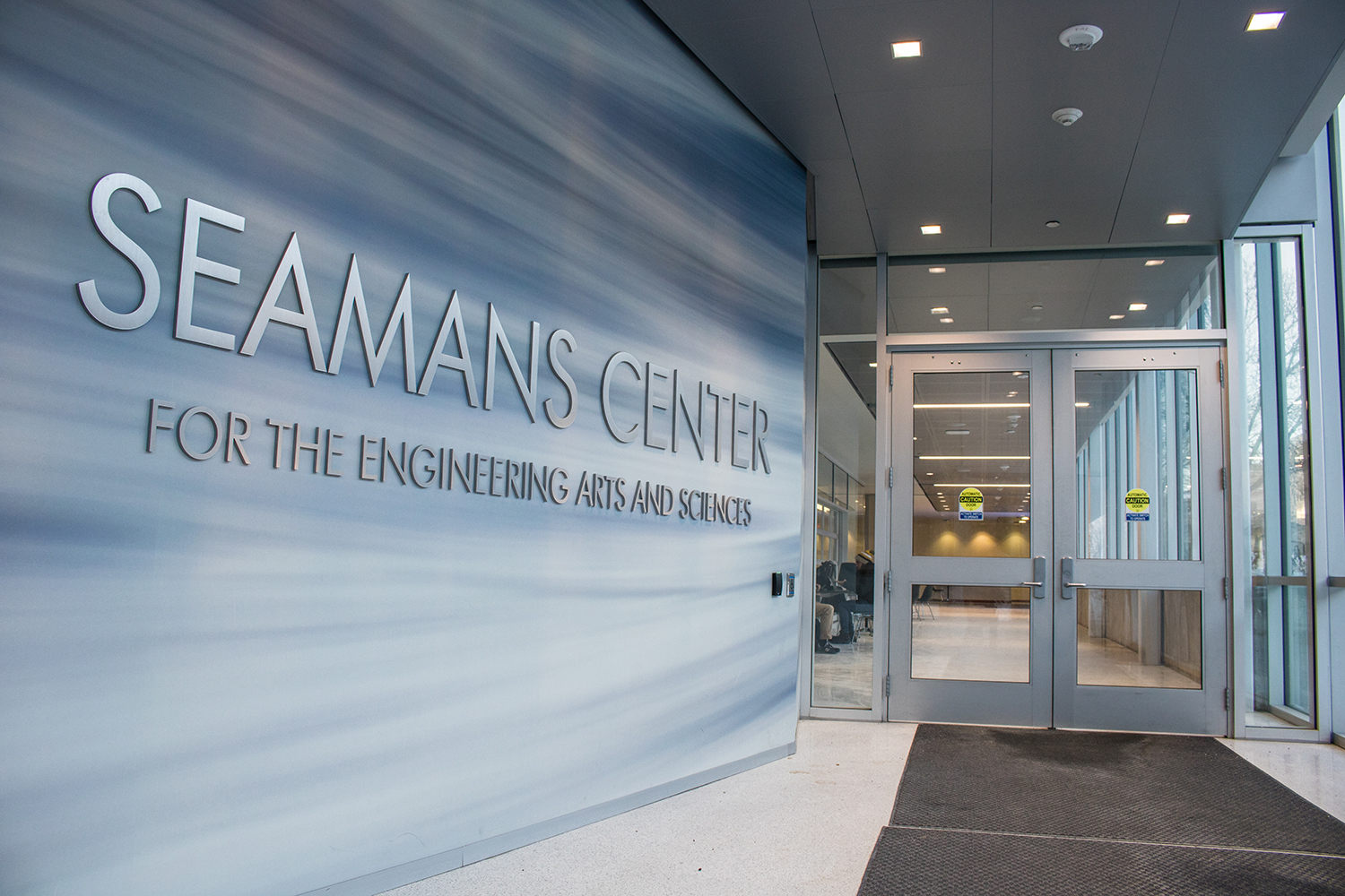 The Seamans Center for the Engineering Arts and Sciences is seen on Tuesday, January 29, 2019. (Shivansh Ahuja/The Daily Iowan)
