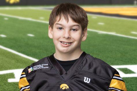 Meet the first Kid Captain of the Hawkeye football season, Aidan Kasper