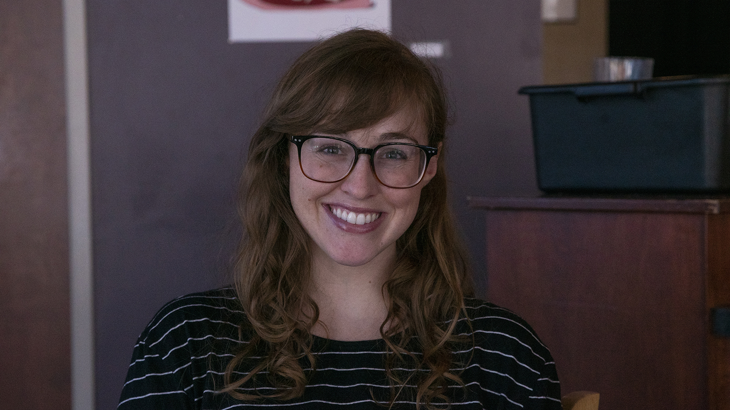 University of Iowa graduate Student Torie Burns is seen on Monday, August 26, 2019. The Graduate College has developed a new webinar series to support University of Iowa Graduate students apply for competitive national awards.