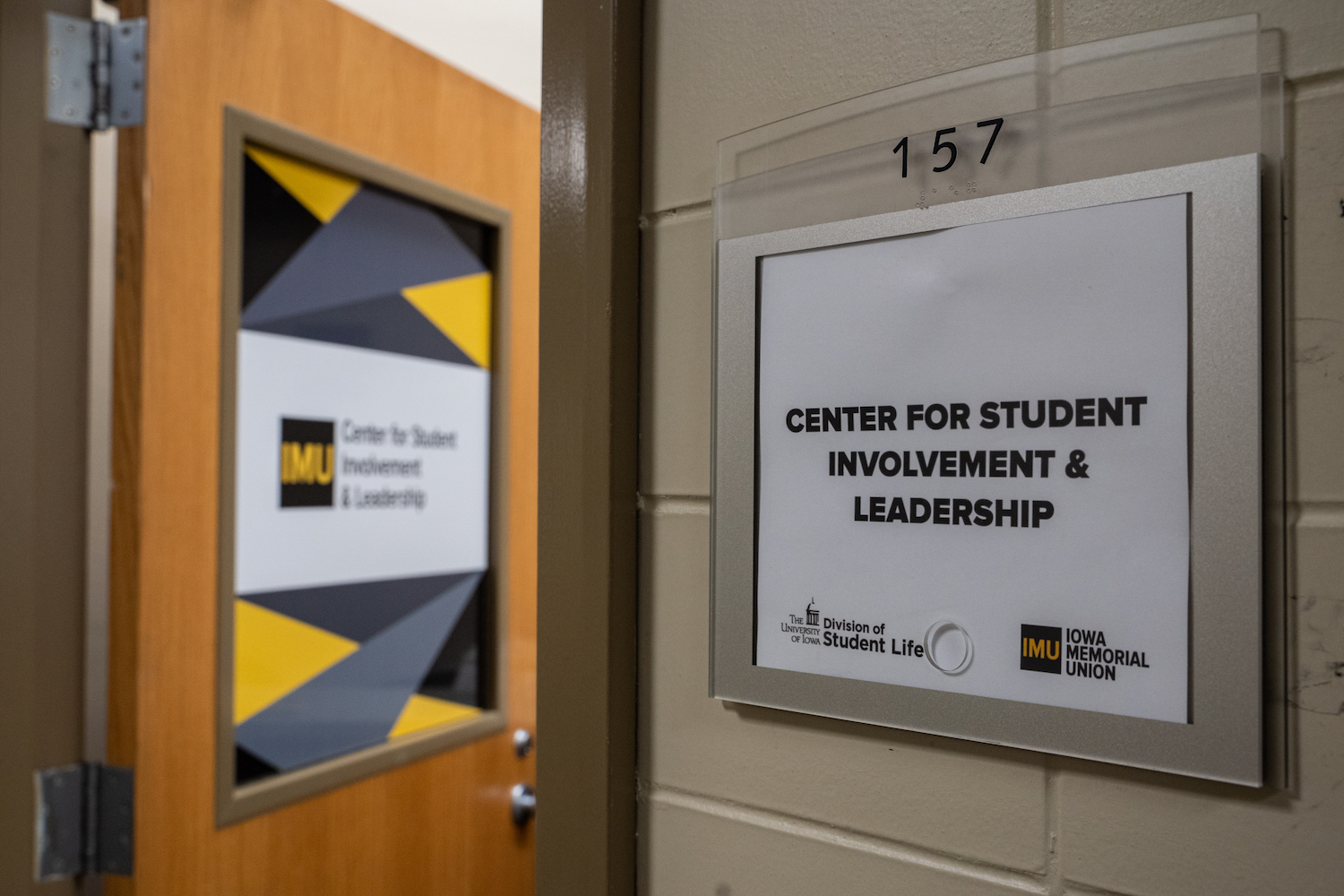 The office of the Center for Student Involvement and Leadership is seen in the IMU on Thursday, August 29, 2019.
