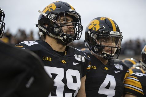 One-on-one with Iowa tight end Nate Wieting