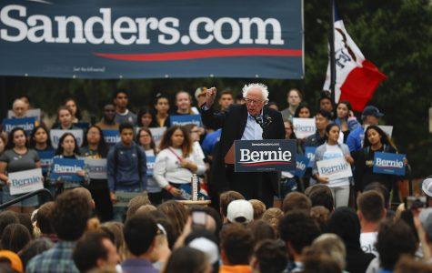 Photos: Bernie Sanders visits Iowa City