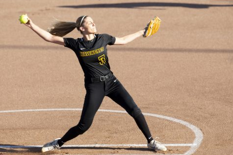 Iowa softball continues losing skid after sweep by Wisconsin