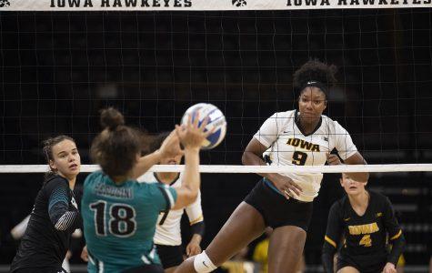 Photos: Iowa volleyball vs. Coastal Carolina (9/20/2019)