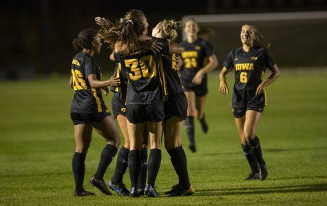 Iowa soccer wins 3-0 at Michigan State