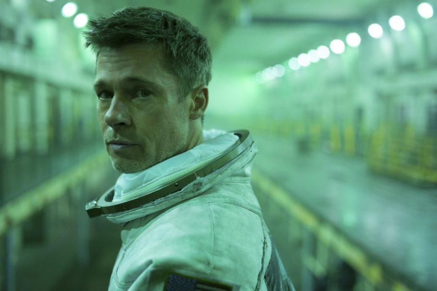 """Brad Pitt in """"Ad Astra"""" [Francois Duhamel/20th Century Fox]"""