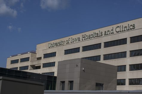 University of Iowa Hospitals and Clinics as seen on Sept. 17, 2018.