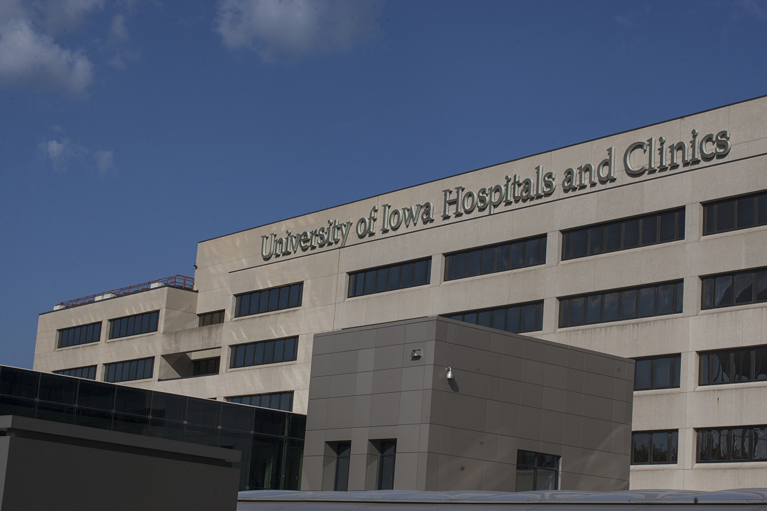 University of Iowa Hospitals and Clinics as seen on Sept 17, 2018.