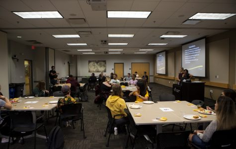 Global Buddies host informational kick-off party for program participants