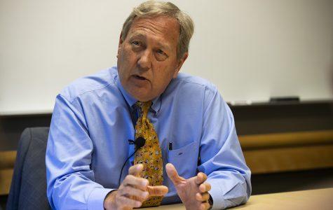 Q&A: UI President Bruce Harreld discusses diversity head's resignation, contract extension, Cy-Hawk game