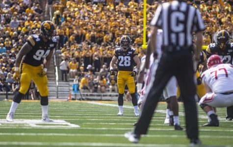 Iowa football's Koerner stepping up in secondary