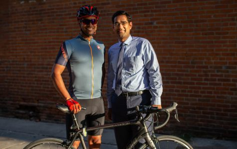 UI physician teams up with local cyclist to raise money for sarcoma research and activism